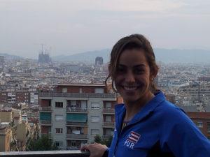Participó en Campeonatos Mundiales de Barcelona 2013 en trampolin 1 metro alcanzando  la posición número 25 de 39 clavadistas y tan solo a 12 puntos fuera de la final (12 mejores).   En trampolín de 3 metros alcanzando la posición número 23 de 43 clavadistas, fuera de alcanzar la semi final por 5 posiciones. Muy orgullosos de su representación y satisfechos de que el entrenamiento esta dando resultados y el trabajo de su entrenadora, la  Lcda. Angelique Rodriguez Amadeo