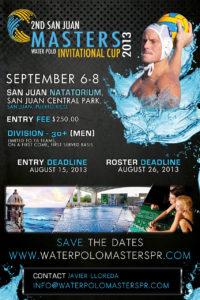 Segunda Copa Invitacional Polo Acuatico septiembre 6-8, 2013